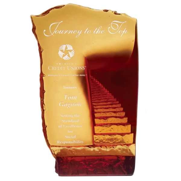 Personalized Endless Stairway Art Award