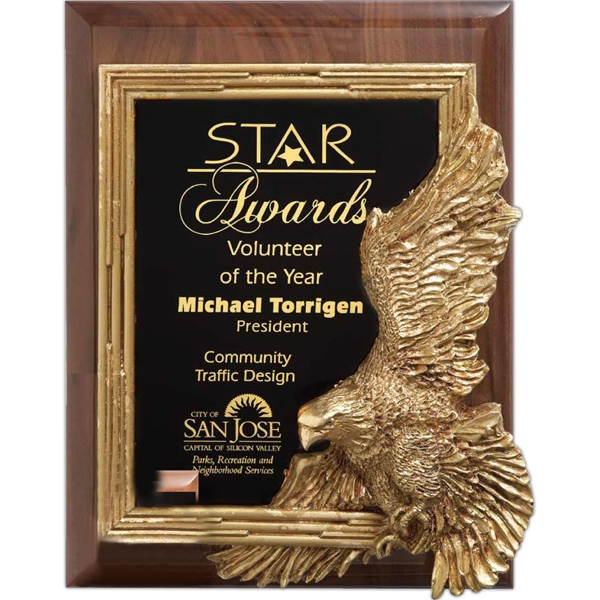Promotional Golden Leadership Wall Plaque