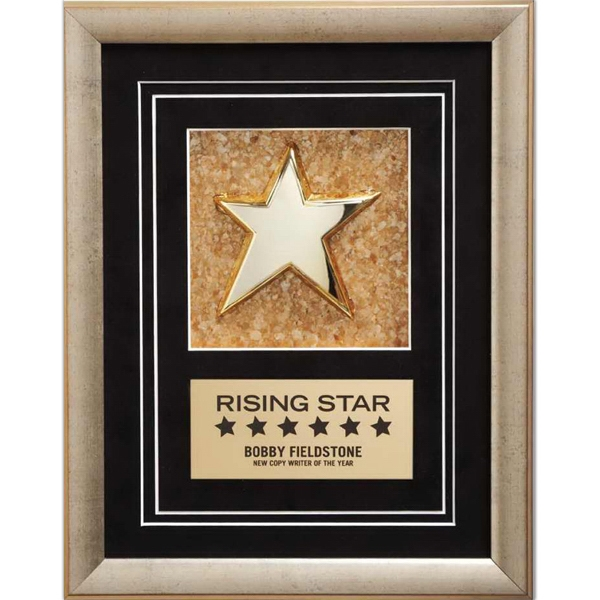 Customized Golden Mica Star Award