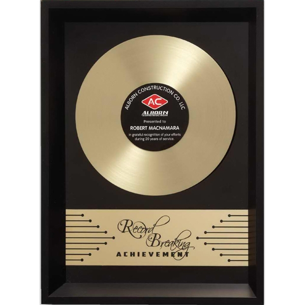 Printed Framed Record Breaker Wall Plaque
