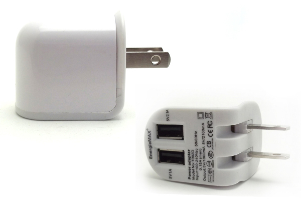 Custom Dual USB Wall Charger