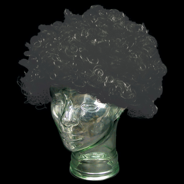 Customized Black Spirit Cheering Costume Wig