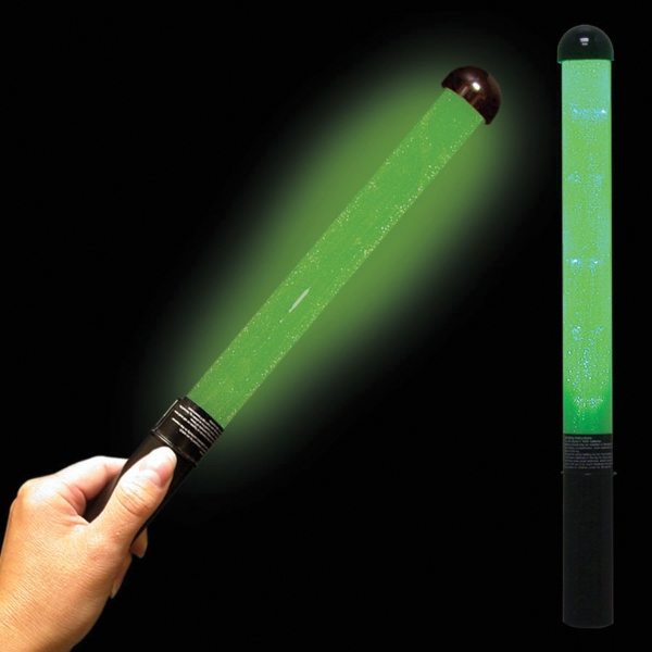 Custom Green LED Light Up Glow Patrol Wand