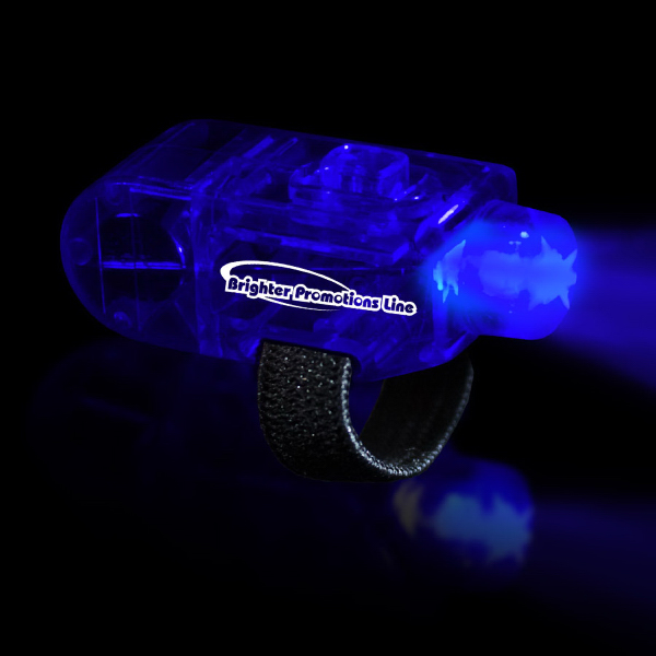 Customized Blue LED Finger Light Ring