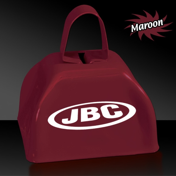 "Customized Maroon 3"" Metal Cowbell"