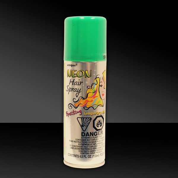Customized Green 3 oz. Hair Spray