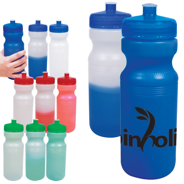 Promotional 24 oz. Color-Changing Water Bottle