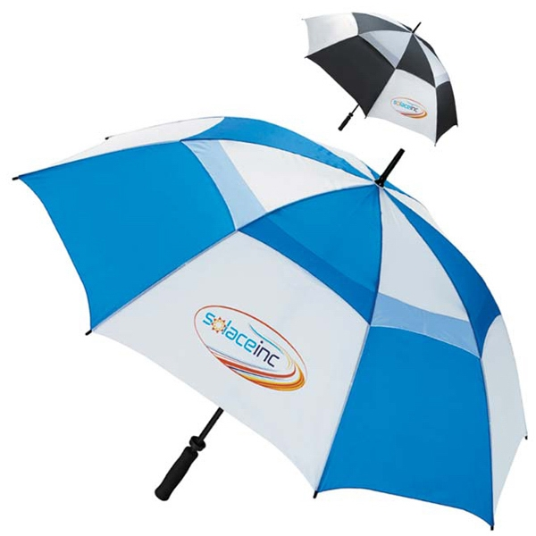 "Customized Ventilated Large 62"" Golf Umbrella"