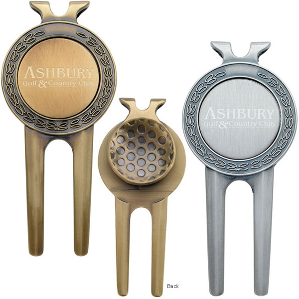 Personalized Honor Magnetic Divot Repair Tool with Ball Marker