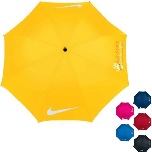 "Custom Nike (R) 62"" Windproof Golf Umbrella"