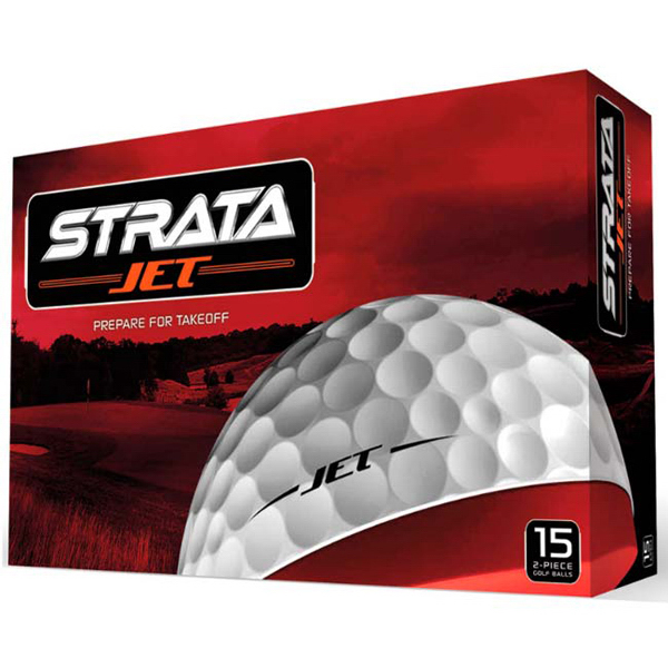 Printed Strata (R) Jet Golf Ball Std Serv - 15 pack