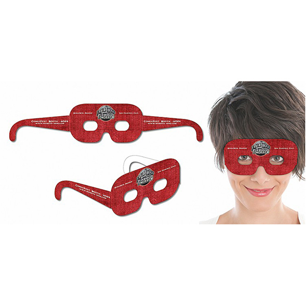 "Custom Mask Glasses UV Coated - 16.25"" x 3.25"""