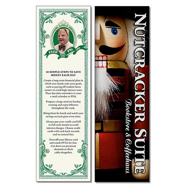 Imprinted Bookmark - 2.25x7.25 Extra-Thick Laminated - 24 pt