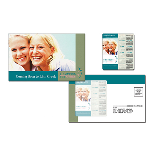 Printed Health Magna-Peel Postcard (8.5x5.25) with 3.5x4 Magnet