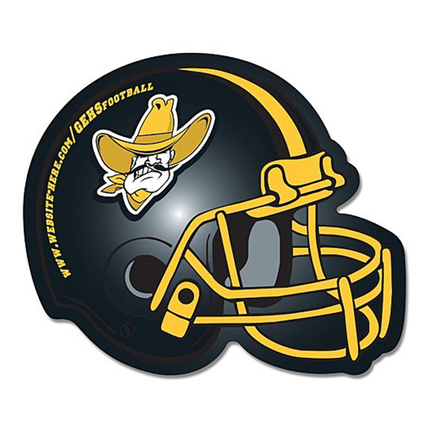 Promotional Magnet - Football Helmet Shape (4.25 x 3.5) Left Facing