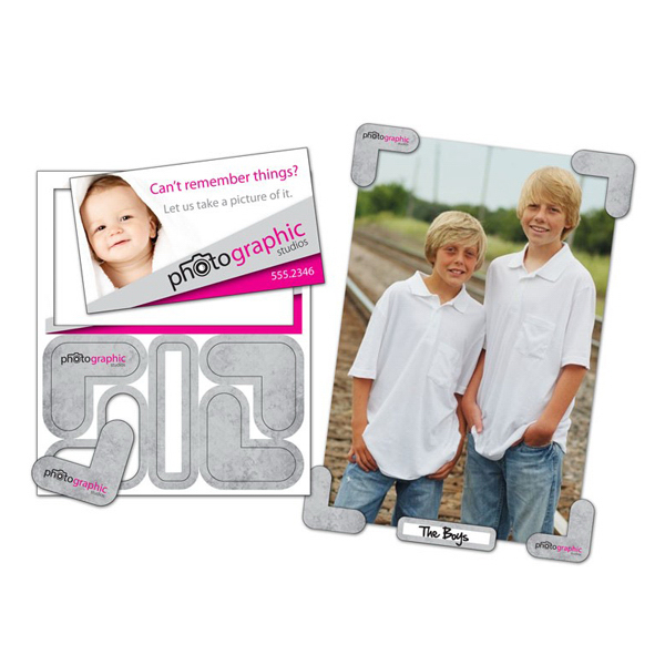 "Printed Picture Holder Magnets - 4"" x 4.75"" - 30 mil"