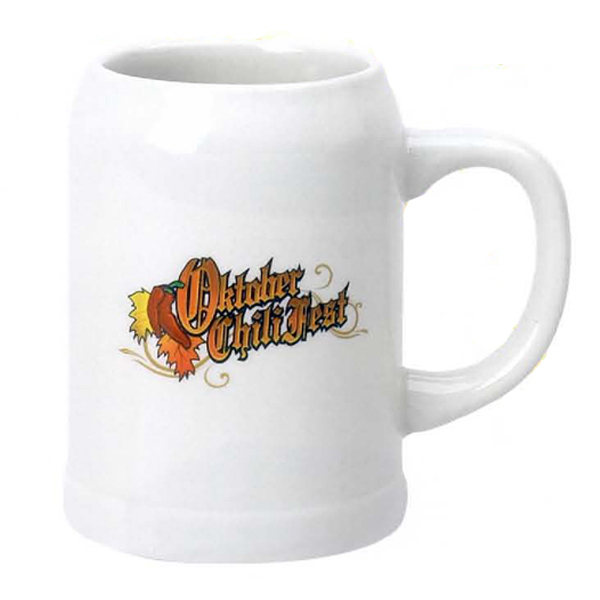 Printed 20 oz. Stein Beer Mug