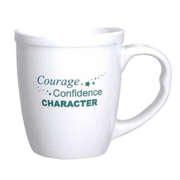 Personalized 15 oz. White Mighty Mug