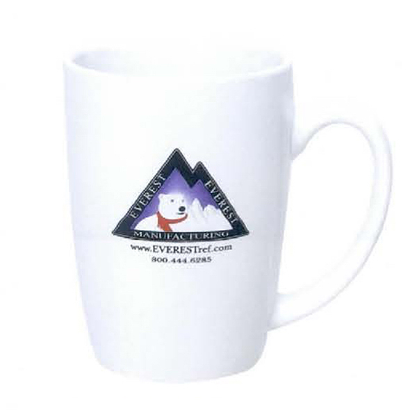Promotional 14 oz. Alumni Mug White