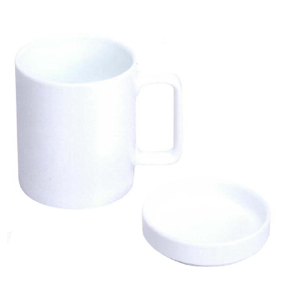 Printed 11 oz. Cookie Cover Porcelain Mug