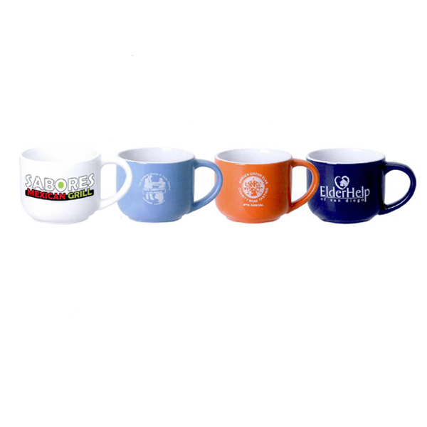 Personalized 14 oz. Mini Latte mug (White)