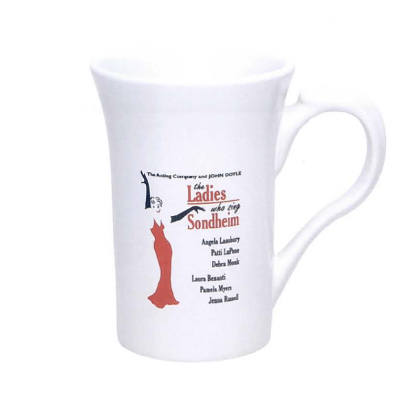 Imprinted 15 oz. Vienna Mug (White)