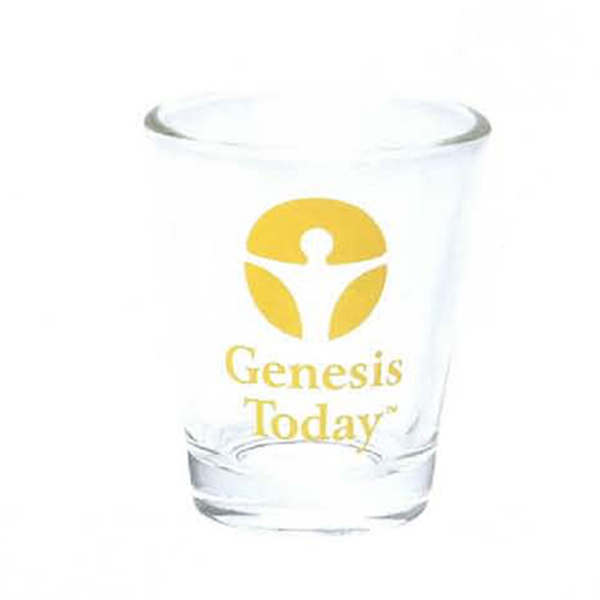 Custom 1 1/2 oz. Clear Shot Glass