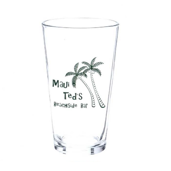 Imprinted 16 oz. Mixing/Pub Glass