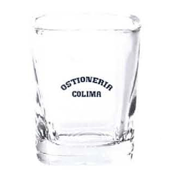Promotional 2 oz. Square Shot Glass