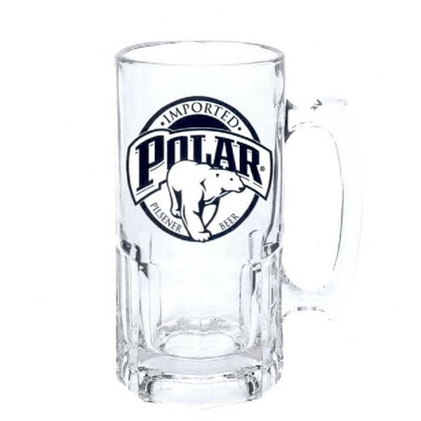 Custom 34 oz Super Beer Mug