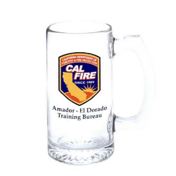 Personalized 12 1/2 oz. Beer Mug