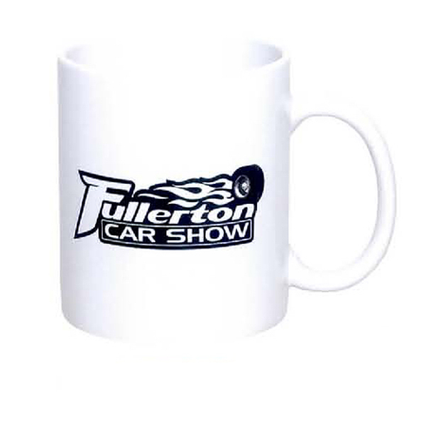 Printed 11 oz. C-Handle White Mug
