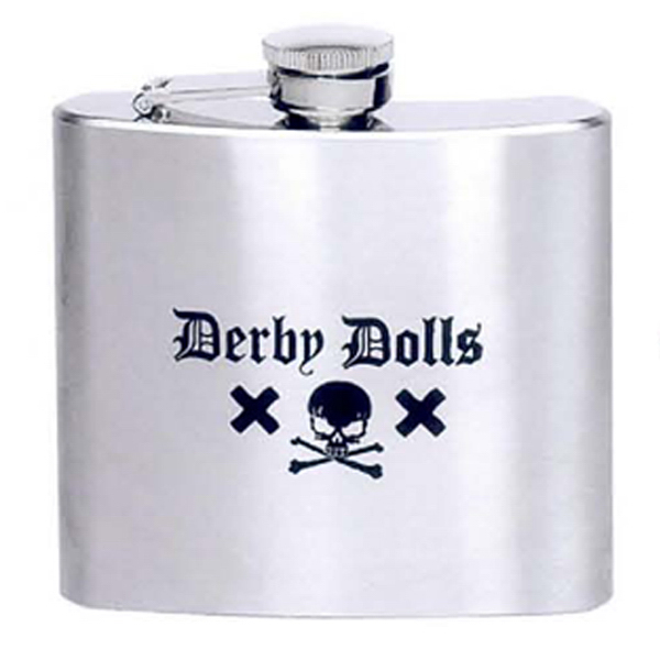 Custom 5 oz. Stainless Steel Liquor Flask