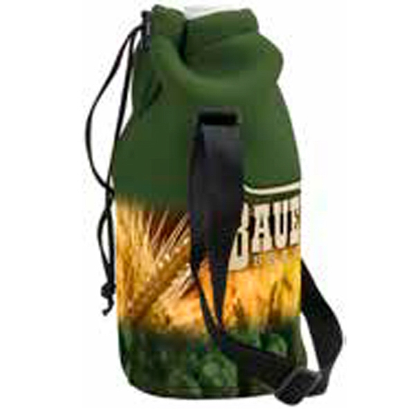 Personalized Neoprene Growler Cover with Drawstring 4CP
