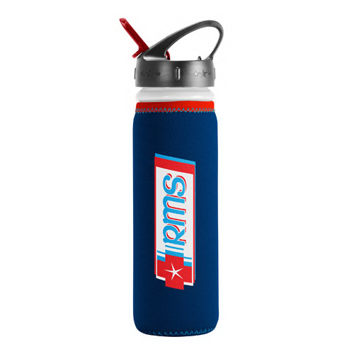Imprinted Van Metro Sport Bottle - Flip-Cap
