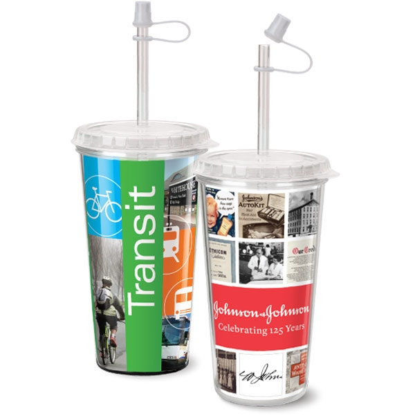 Personalized Take Out Tumbler full color