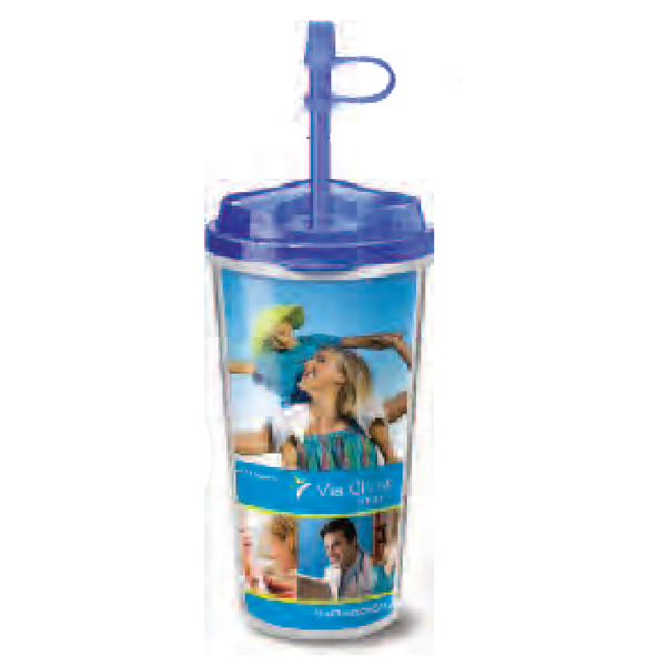 Custom Takeout Tumbler Infuser 16 oz, Screen Print