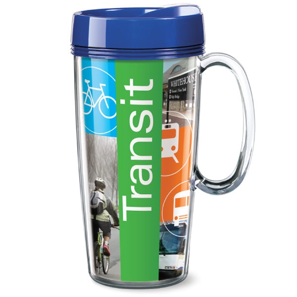 Personalized ThermalStar (TM) Travel Mug with Handle
