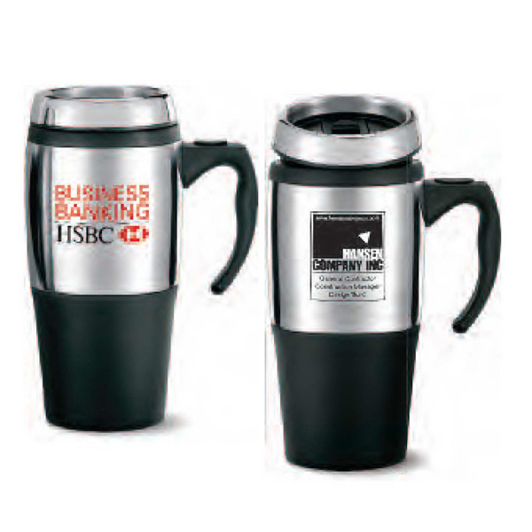 Promotional VisionSteel Value Mug with handle