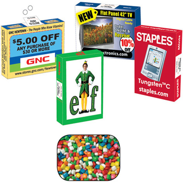 Promotional Advertising Mint/ Candy & Gum Box with Gum