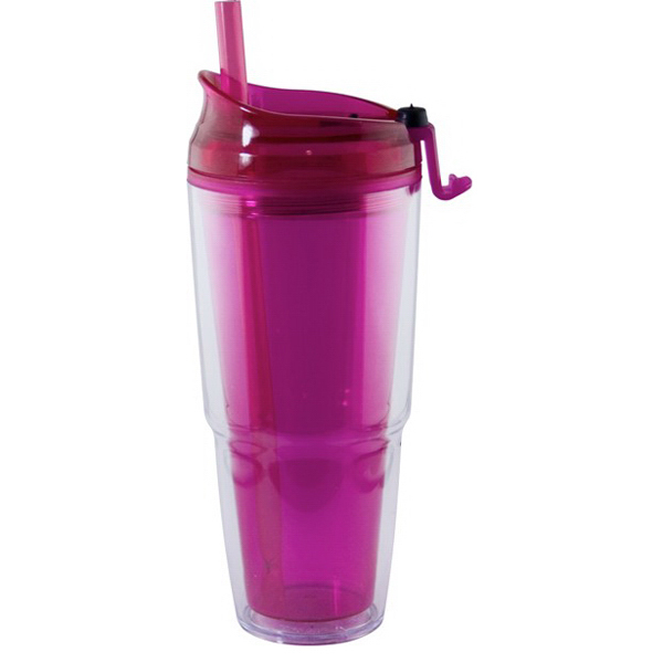 Promotional Acrylic Dual Double Wall Tumbler