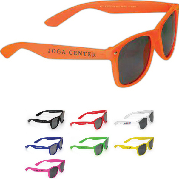 Customized Fun Colored Sunglasses