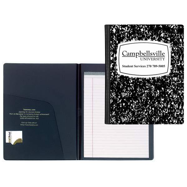 Promotional Composition Book Padboard