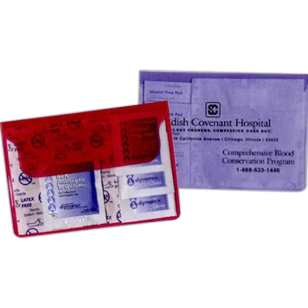 Personalized Translucent First Aid Kit