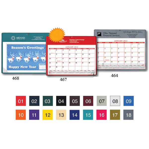 Customized Calendar Doodle Pad