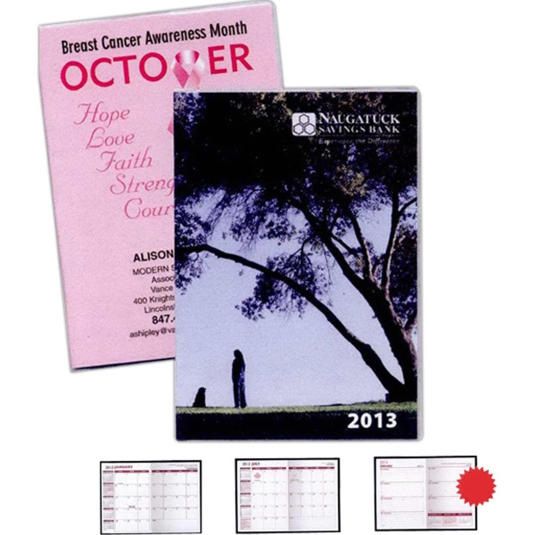"Promotional Customized Full Color Digital 7"" x 10"" Planner Monthly"