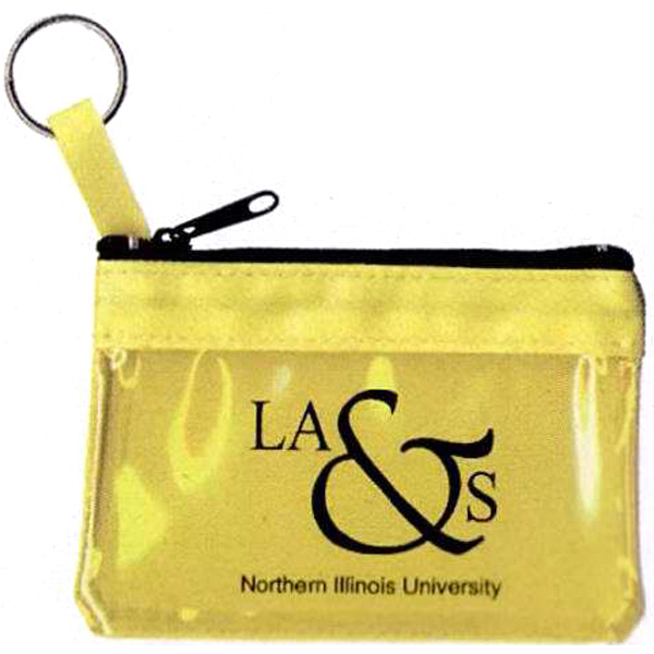 Customized Key Ring Zippered Pouch