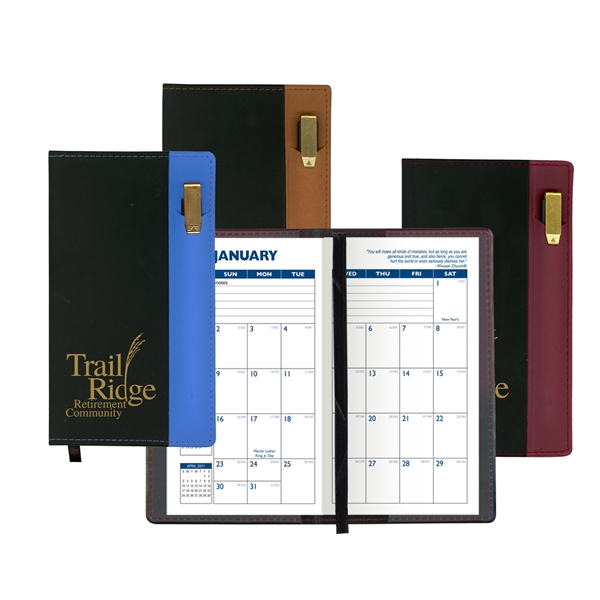 Printed Lafayette Soft Cover 2-Tone Vinyl Designer Series Planner
