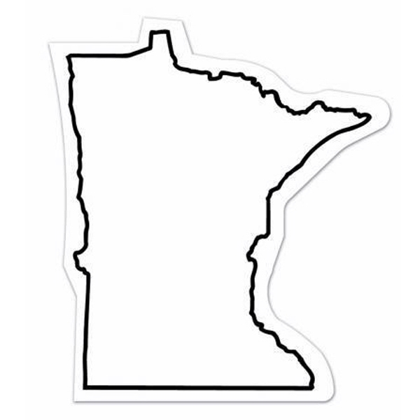 Imprinted Magnet - Minnesota - Full Color