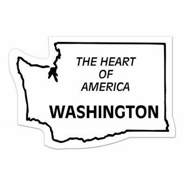 Printed Magnet - Washington - Full Color